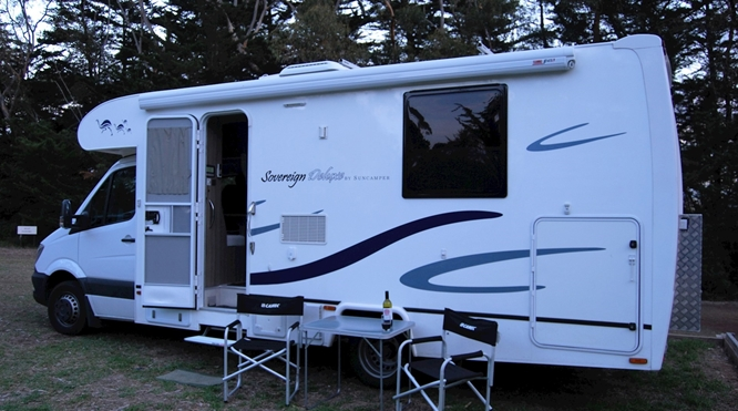Sovereign Deluxe 3 berth