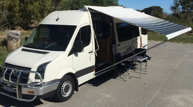Volkswagen Crafter 2 berth