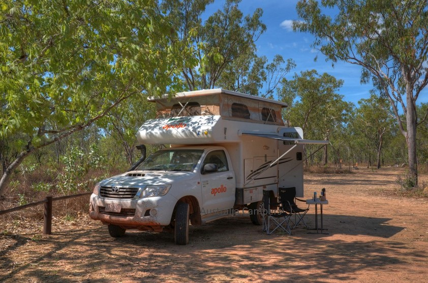 Apollo Adventure 4WD Camper Australie