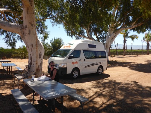 Apollo Hitop Campervan Broome Australie